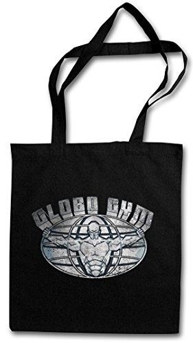 GLOBO GYM SIGN HIPSTER BAG – centre club de fitness White Fitness Studio Dodgeball Goodman Symbol Insignia Logo