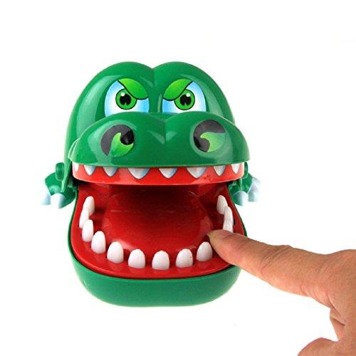 Axibi Spaß Krokodil Biss Finger ziehen Zähne Spiel Kinder Kind Spielzeug Geschenk Streich Spielzeug (18 Mos Altes Spielzeug)