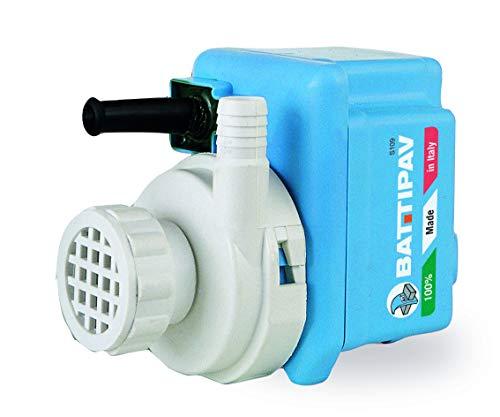 Wasserpumpe 1x, WP2/S2_1000 L/H, ORIGINAL BATTIPAV Tauchpumpe, für Steinsägen & Fliesenschneidmaschinen & Steintrennmaschine mit Wasserwanne,