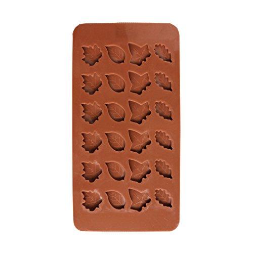 (Pigupup Blatt-Silikon-Süßigkeit-Form-Untersatz für Schokoladen-Kuchen-Deckel-Gummies Ice Soap Butter-Gelee-Kuchen-Dekoration)