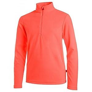 Medico Kinder Ski Fleece Shirt/Wintershirt/Jungenshirt/Mädchenshirt/Kinderpulli/Sportshirt/Jungenpulli/Mädchenpulli/Kinderpullover