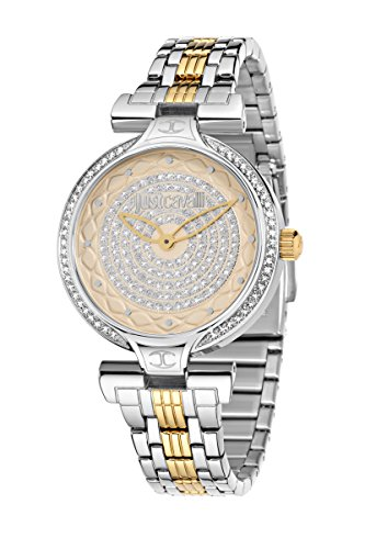 Just Cavalli R7253579503 Ladies' Watch Analogue Quartz Lady J Stainless Steel