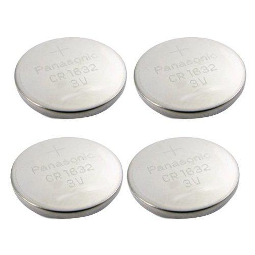 , 4 Stück - Panasonic Akku - Cr1632 3 V 3 V Lithium Akku tragbare elektronische Gerät Größe erhältlich
