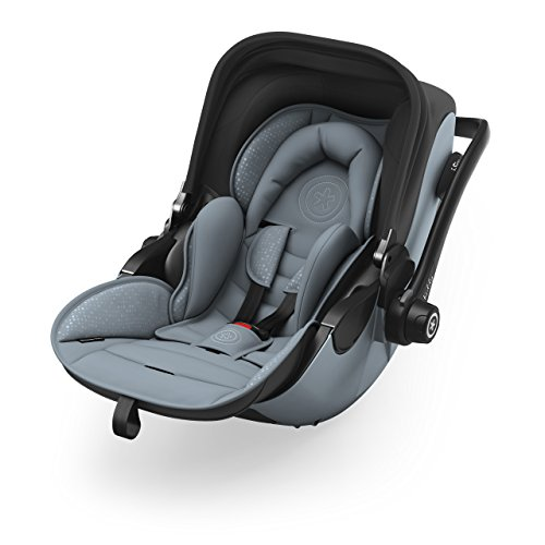 Preisvergleich Produktbild Kiddy Babyschale Evoluna i-Size 2 inkl. Isofix Base 2, 2018, Farbe:Polar Grey