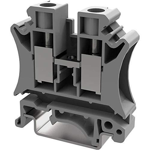 Durchgangsklemme 10.2 mm Schrauben Grau Degson PC10-01P-11-00AH 1 St.