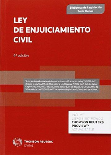 Ley De Enjuiciamiento Civil (Biblioteca de Legislación - Serie Menor) por Aa. Vv.
