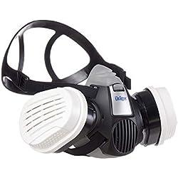 Dräger X-plore® 3300   Kit Demi-Masque respiratoire adapté aux substances Chimiques, gaz, vapeurs Toxiques   Demi-Masque Chimique + 2 filtres A1B1E1K1 HG P3