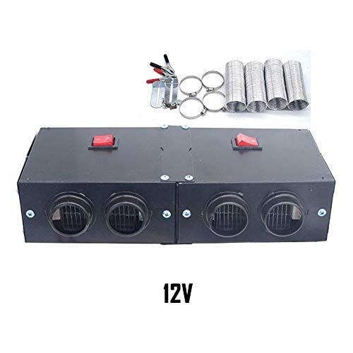 Calentador automóviles Universal DC 12-24V 4 Puertos