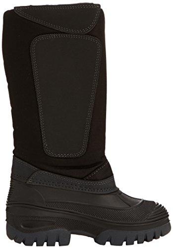 Woof Wear Bottes hautes d'extérieur pour enfant Noir - noir