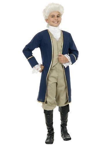 Childs George Washington Costume by CHARADES COSTUMES (Washington George Kinder Kostüm)