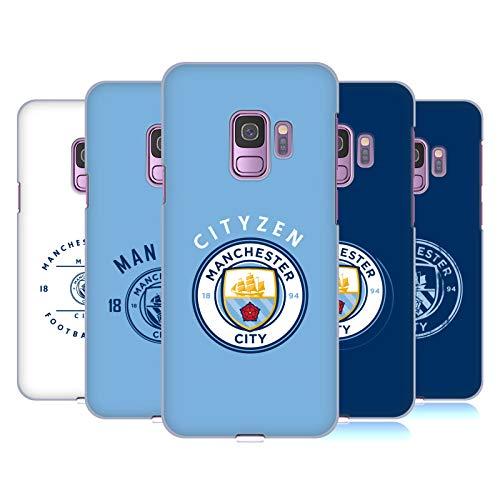 Head Case Designs Officiel Manchester City Man City FC 2018/19 Badge Étui Coque D'Arrière Rigide pour Samsung Téléphones 1