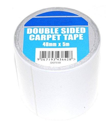 Supadec - Cinta adhesiva alfombras adhesivo 2 caras