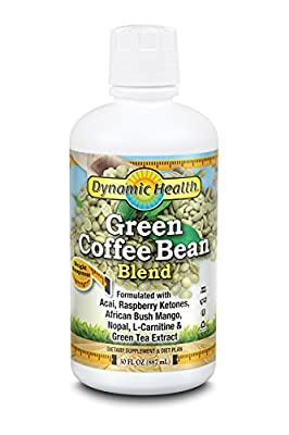 Dynamic Health 887.1ml Green Coffee Bean Extract Juice Blend by Dynamic Health Laboratories Inc