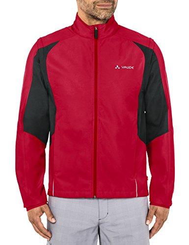 Vaude Herren Dundee Classic Zip Off Jacket Jacke, Indian red, XL