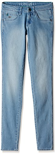 Wrangler Women's Slim Jeans (WRJN5806_Autumn Blue _30)  available at amazon for Rs.1197
