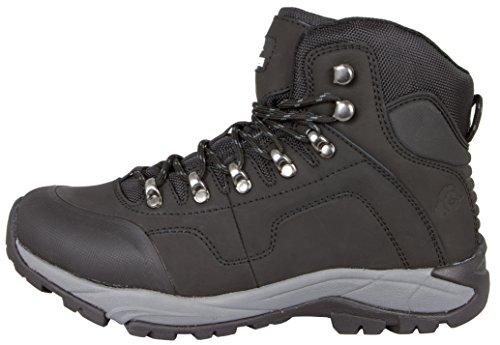 GUGGEN Mountain Herren Wanderschuhe Bergschuhe Wasserdicht Outdoor-Schuhe Walkingschuhe M012 Schwarz