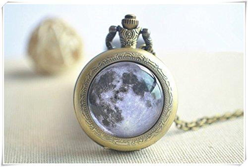 Colgante con luna llena completa