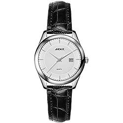 Fashion ladies leather strap quartz watch