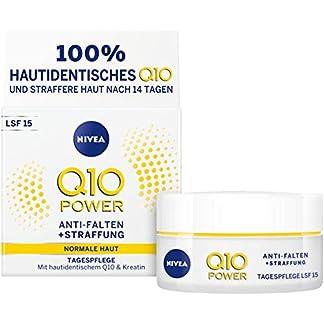 Nivea Q10Power anti-arrugas + la racionalización Día Cuidado Para glattere & rejuvenecedora, crema de día con LSF 15, 2unidades (2x 50ml)