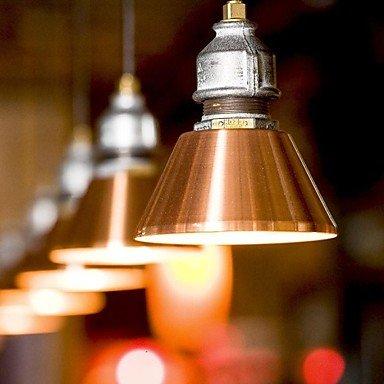 Classica e moderna arte retrò di lampadari di vetro, ferro creative arte in vetro di (Vecchio Bronzo 2 Lampadina)