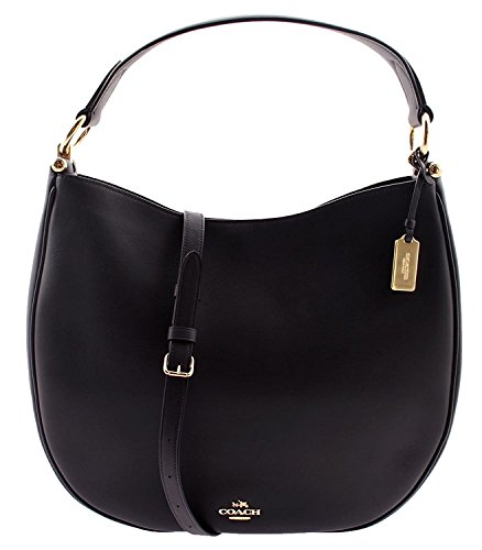 Coach NOMAD HOBO IN GLOVETANNED LEATHER F36026 NAVY - Coach Womens Hobo