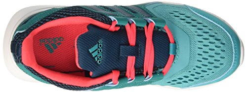 Adidas Hyperfast 2.0 K, Scarpe da Corsa Bambini e Ragazzi, Rosa, 36 EU Multicolore (Shogrn/Minera/Eqtgrn)