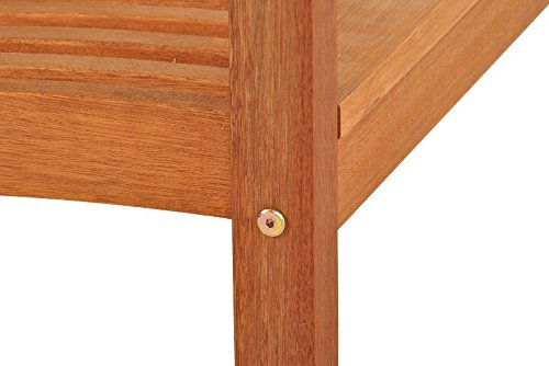 SAM® Gartenbank Maracaibo aus Akazienholz, FSC® 100% zertifiziert, 157 cm breit, 3-Sitzer Holzbank, geölt, Gartenmöbel aus Holz für Terrasse & Balkon - 5