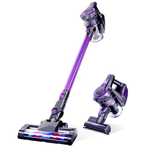Lctxcq yzp nec882a power plush 2-in-1 stick, aspirapolvere senza fili ricaricabile grigio su blu viola (colore : purple)