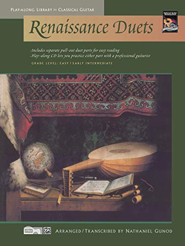 Renaissance Duets (Play-Along Library for Classical Guitar)