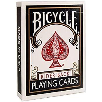 Black USPCC Version NOC Original Playing Cards Includes Cascade Card Bag