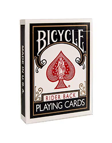 Fahrrad Black Rider 808 Spielkarten Bicycle Black Rider 808 Playing Cards (Fahrrad-magic-karten)