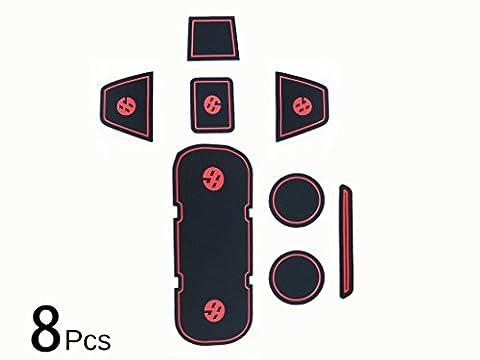 (8) Tür Gummi Untersetzer Becherhalter Seitentasche GT86Für Scion FRS Toyota