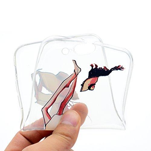 AllDo Silikon Hülle für iPhone 6/6S, Transparente Klar Etui Weiche Flexible Schale Ultra Dünne Glatte Schutzhülle Leichte Schlanke Etui Soft Silicone Transparent Case Cover [Traummädchen-Serie] Handyh Liebe die Haustiere