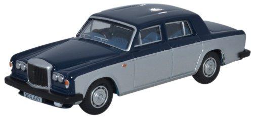 Bentley T2, blu scuro/grigio, RHD, 0, modello di automobile, modello prefabbricato, Oxford 1:76 Modello esclusivamente Da Collezione