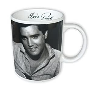 elvis presley tasse aus porzellan f r max 320ml f llmenge k che haushalt. Black Bedroom Furniture Sets. Home Design Ideas