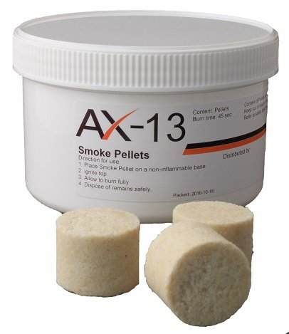 AX-13 Rauch-Pellets weiß 20 Stück pro Dose