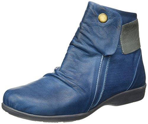 Andrea Conti Damen 0342751 Kurzschaft Stiefel Blau (blau/grau 203)