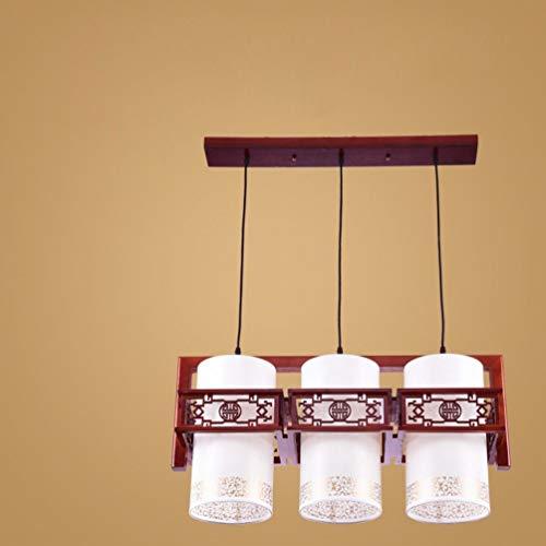 Leuchter-Modernes, Gefuuml;hrtes Rundes Restaurant Kronleuchter DREI Idyllische IKEA Kreative Bar Tisch Esszimmer Esszimmer Lampen,EIN