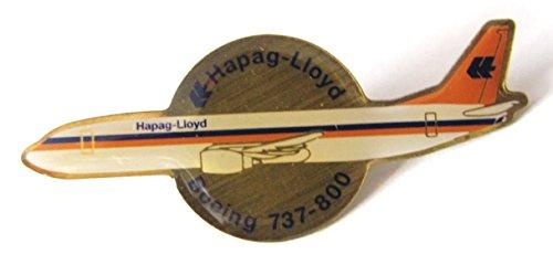 Hapag Lloyd - Boeing 737-800 - Pin 40 x 17 (Kostüme Lloyd)