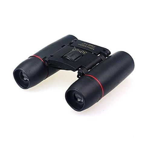 OverDose 30x60 Zoom Mini Outdoor Jumelles Télescopes pliants Vision