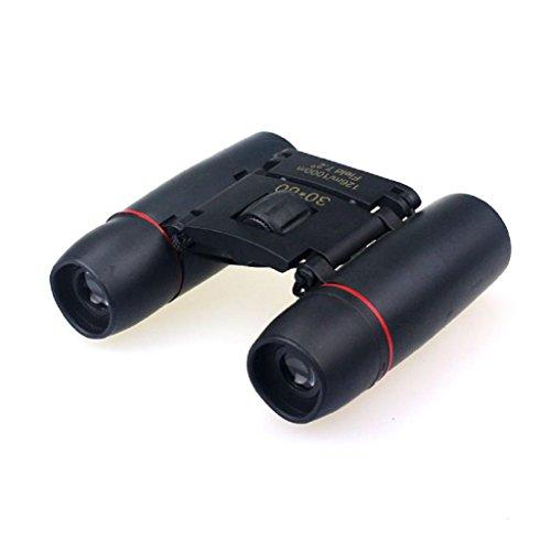 OverDose 30x60 Zoom Mini Outdoor Jumelles Télescopes pliants Vision nocturne