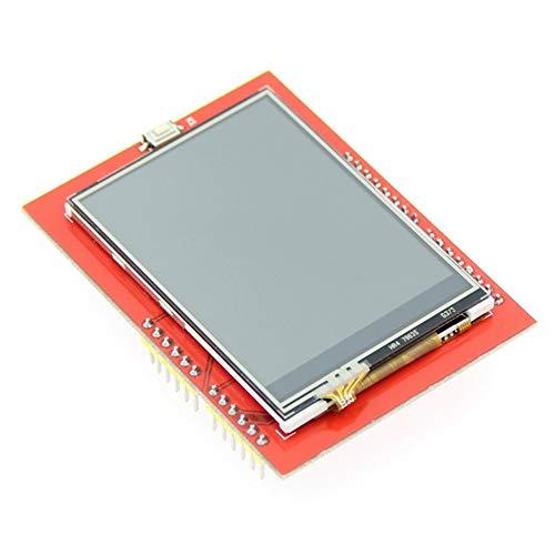 gfjfghfjfh 2,4-Zoll-TFT-SPI-serielle LCD-Auflösung 320 * 240 2,4-Zoll-LCD-Anzeige für Arduino 5V / 3,3V-Treiber-IC ILI9341 mit Touch