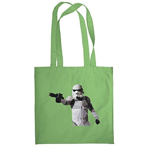 Texlab–Poly Gun Trooper–sacchetto di stoffa Verde chiaro