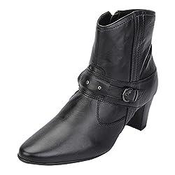 La Briza Women 1347 Black Synthetic Boots 4 UK