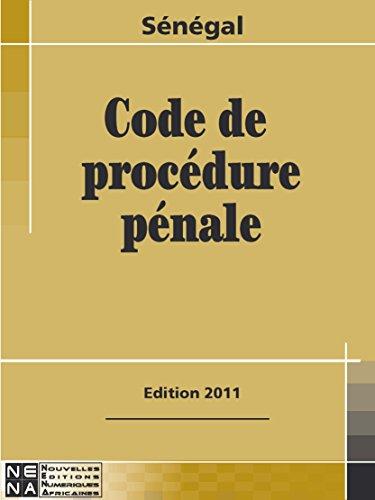 Sénégal - Code de Procédure pénale