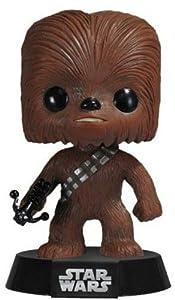 Funko- Star Wars Figura Pop Chewbacca, (FK2324)