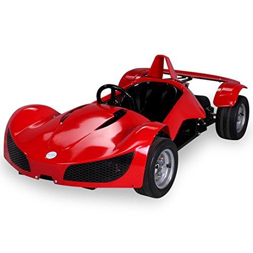 Preisvergleich Produktbild Kinder Elektro MGT Rennwagen 1000 Watt 48 Volt rot Kinder Go-Kart Kinderbuggy Rennauto