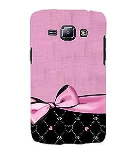 Pink Bow Pattern 3D Hard Polycarbonate Designer Back Case Cover for Samsung Galaxy J1 2016 :: Samsung Galaxy J1 2016 Duos :: Samsung Galaxy J1 2016 J120F :: Samsung Galaxy Express 3 J120A :: Samsung Galaxy J1 2016 J120H J120M J120M J120T