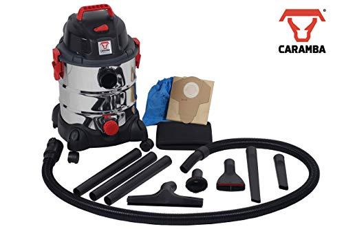 CARAMBA Nass Trocken Sauger Auto 7.0 - Multifunktionaler Autosauger mit Blasfunktion 1250 Watt abgestimmt für die Auto Innenreinigung, Polster, Sitze, Fußmatten, Amaturen -