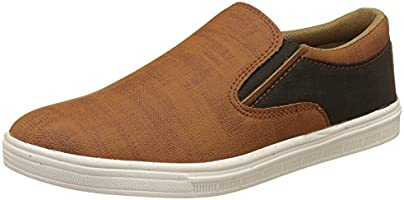 Centrino Men's Tan Casual Sneakers - 8 UK/India (42 EU)(113-001)